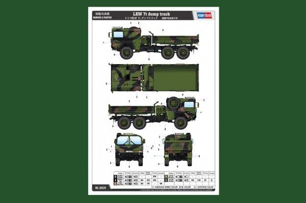 Hobby Boss 85520 LKW 7t dump truck 1/35