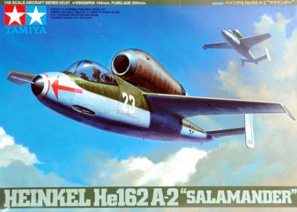 Tamiya 61097 Heinkel He162 A-2 Salamander (1:48)