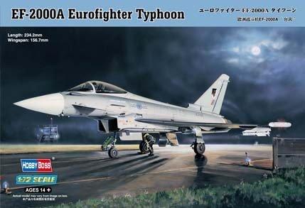 Hobby Boss 80264 EF-2000A Eurofighter Typhoon (1:72)