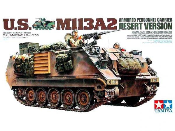 Tamiya 35265 U.S. M113A2 Armored Personnel Carrier Desert Version (1:35)