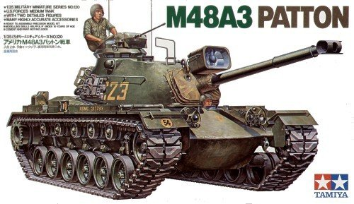Tamiya 35120 U.S. M48A3 Patton Tank (1:35)