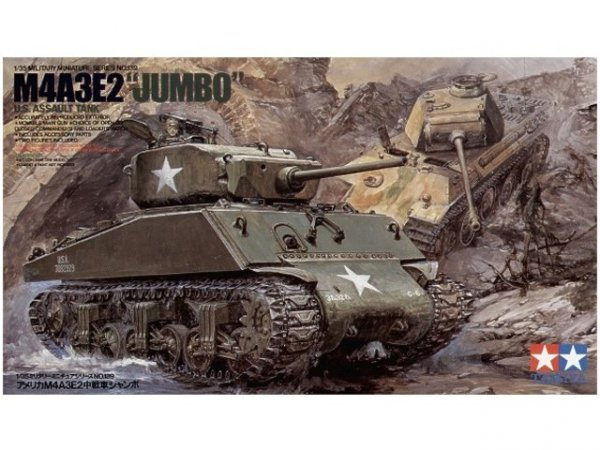 Tamiya 35139 US M4A3E2 Jumbo (1:35)