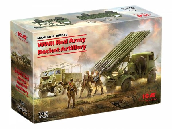 ICM DS3512 WWII Red Army Rocket Artillery 1/35