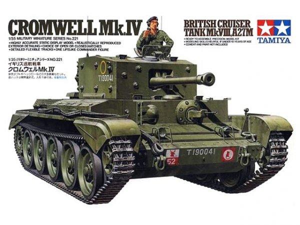 Tamiya 35221 Cromwell Mk.IV British Cruiser Tank Mk.VIII, A27M (1:35)