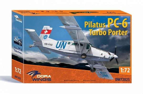 Dora Wings 72025  Pilatus PC-6 Turbo Porter 1/72