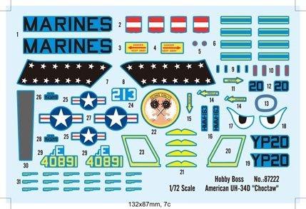 Hobby Boss 87222 American UH-34D Choctaw (1:72)