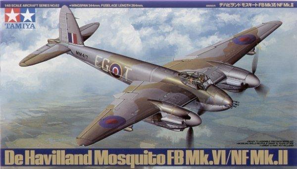 Tamiya 61062 De Havilland Mosquito FB Mk.VI/NF Mk.II (1:48)