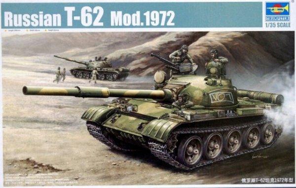 Trumpeter 00377 Russian T-62 Mod 1972 (1:35)