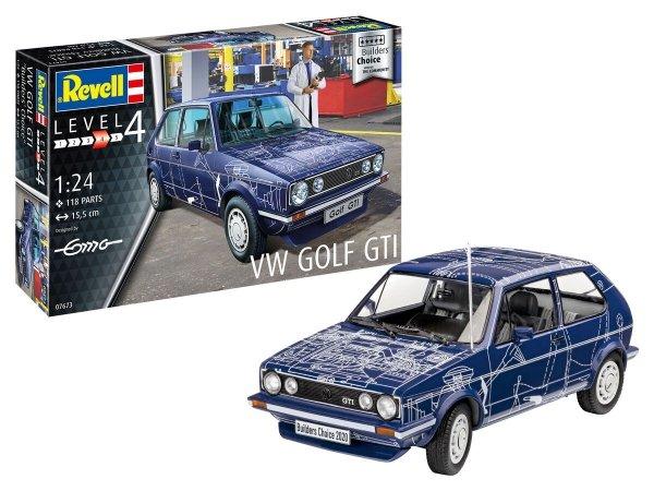 Revell 67673 VW Golf GTI Builders Choice Model Set 1/24