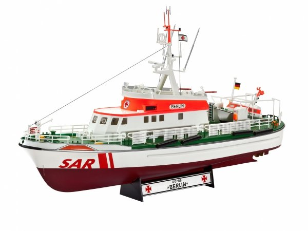 "Revell 05683 DGzRS Berlin + Sea King ""Good Bye Set"" 1/72"