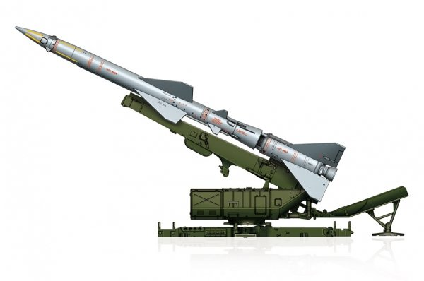 Hobby Boss 82933 Sam-2 Missile with Launcher Cabin