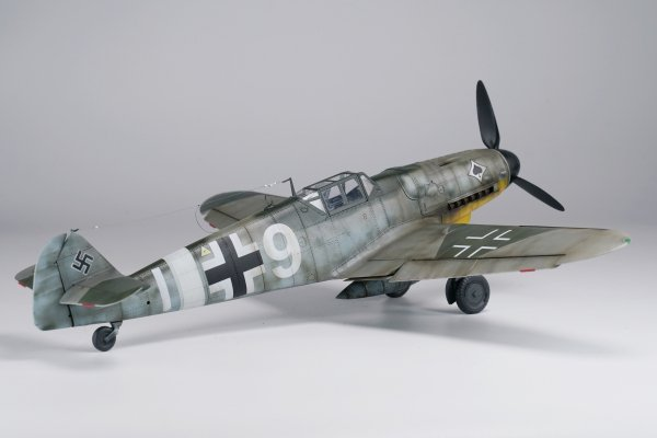 "Border Model BF-001 Messerschmitt BF109G-6 ""Gustav"" 1/35"