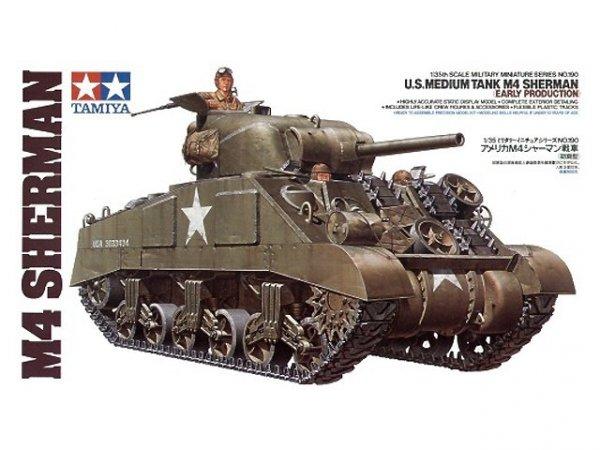 Tamiya 35190 U.S. Medium Tank M4 Sherman (Early Production) (1:35)