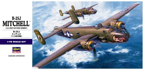 Hasegawa E16 B-25J Mitchell (1:72)