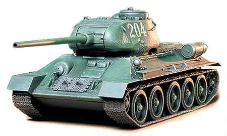 Tamiya 35138 Russian T-34/85 Tank (1:35)
