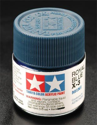 Tamiya X3 Royal Blue (81503) Acrylic paint 10ml