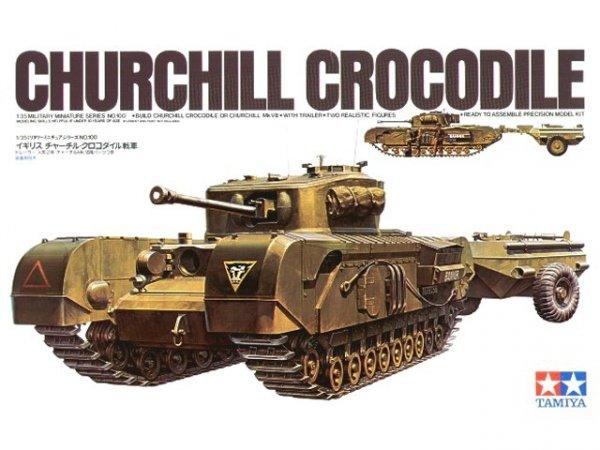 Tamiya 35100 Britisch Churchil Crocodile (1:35)