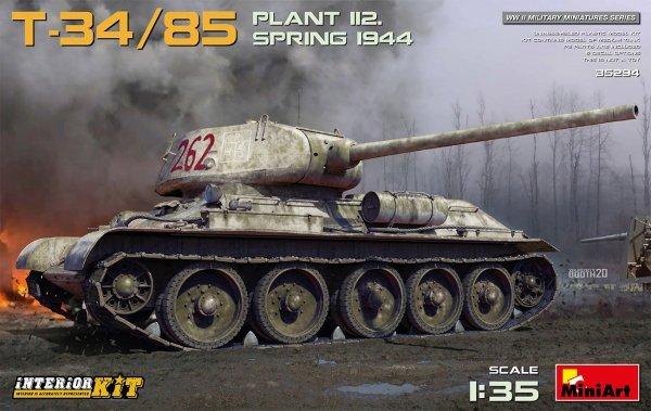 MiniArt 35294 T-34/85 PLANT 112. SPRING 1944. INTERIOR KIT 1/35