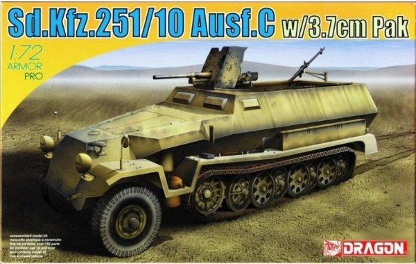 Dragon 7314 Sd.Kfz.251/10 Ausf.C w/3.7cm Pak 1/72