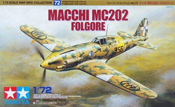 Tamiya 60772 Macchi MC202 Folgore (1:72)