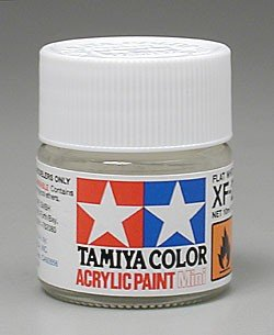 Tamiya XF2 Flat White (81702) Acrylic paint 10ml