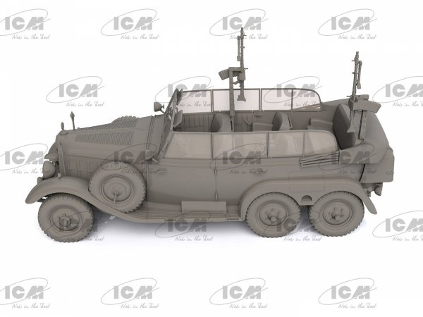 ICM 35530 Type G4 Partisanenwagen 1/35