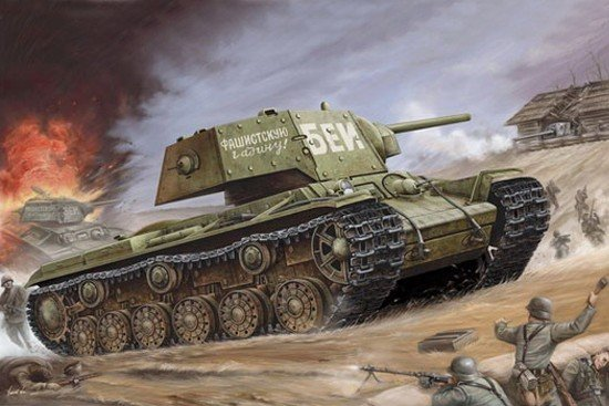 Trumpeter 00357 Russia KV-1 s Ehkranami (1:35)