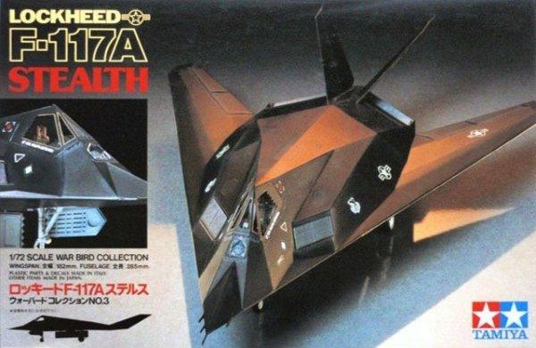 Tamiya 60703 Lockheed F-117A Stealth 1/72