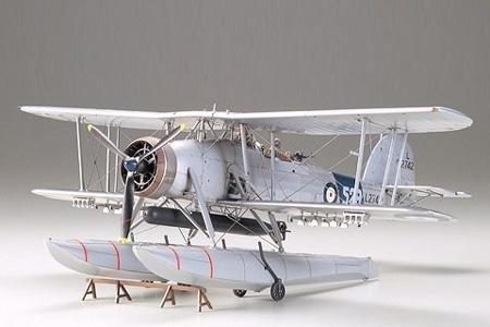Tamiya 61071 Fairey Swordfish Floatplane (1:48)