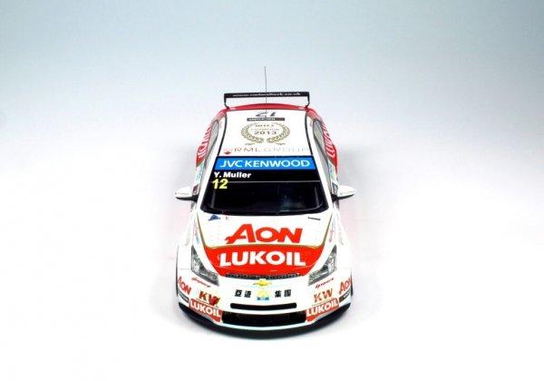NuNu PN24022 Chevrolet Cruze 1.6T 13 WTCC WORLD CHAMPION 1/24