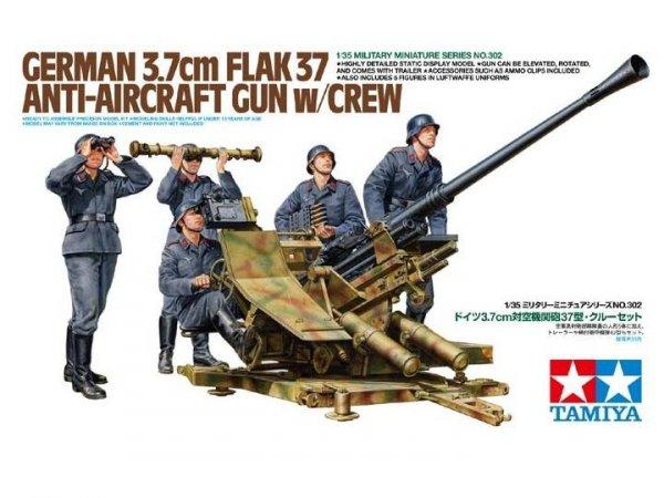 Tamiya 35302 Flak 37 w/Crew (1:35)
