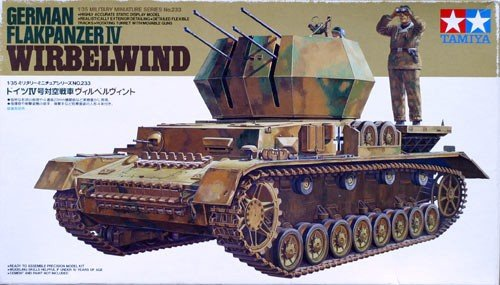 Tamiya 35233 German Flakpanzer IV Wirbelwind (1:35)