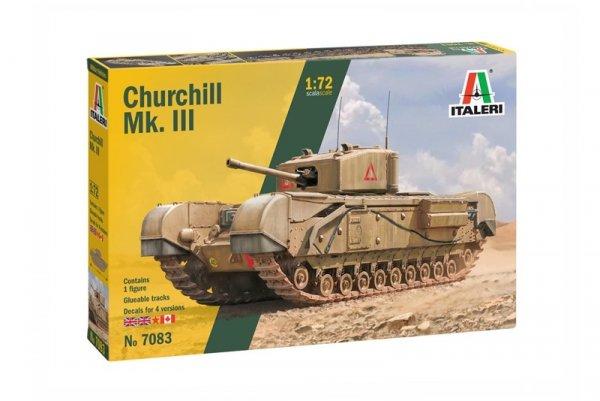 Italeri 7083 Churchill Mk. III 1/72