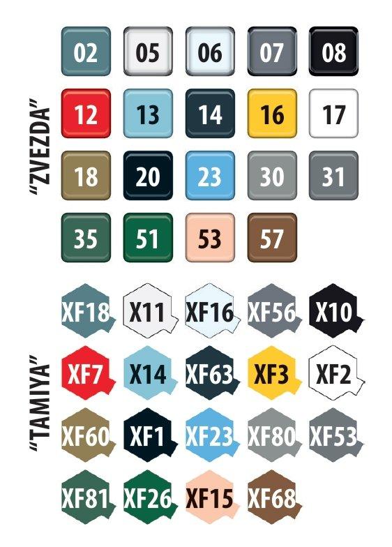 "Zvezda 4818 YAK-130 ""MITTEN"" 1/48"