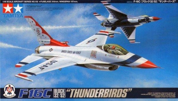 Tamiya 61102 F-16C Thunderbirds (1:48)