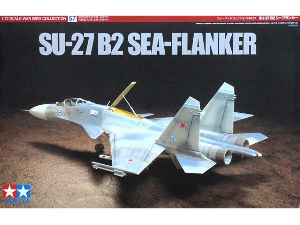 Tamiya 60757 SU-27 B2 Sea-Flanker (1:72)
