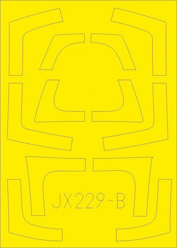 Eduard JX229 F-5F TFace 1/32 KITTY HAWK