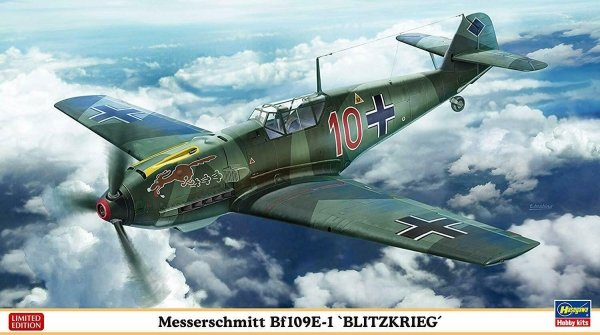 """Hasegawa 07478 Messerschmitt Bf 109E-1 """"Blitzkrieg"""" 1/48"""