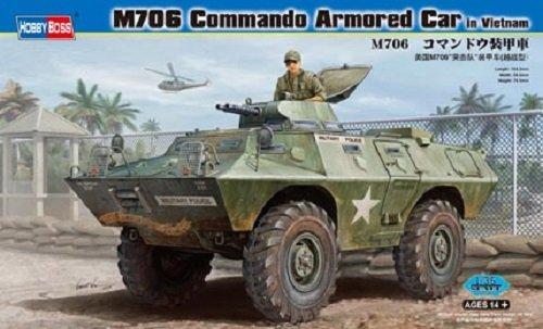 Hobby Boss 82418 M706 Commando Armored Car in Vietnam (1:35)