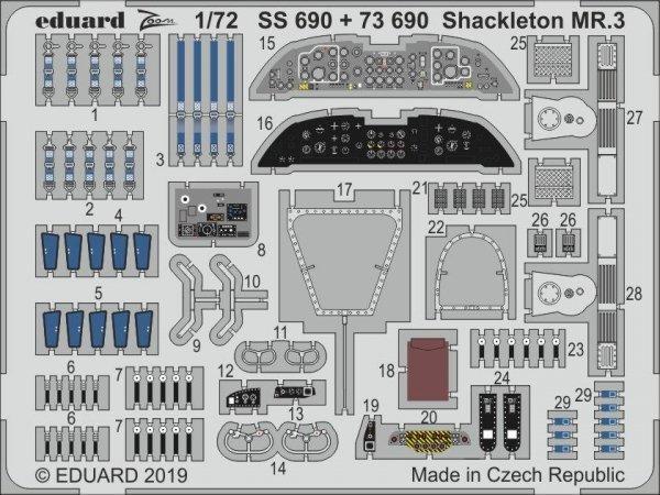 Eduard SS690 Shackleton MR.3 1/72 REVELL
