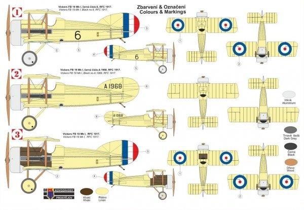 """Kovozavody Prostejov KPM0249 Vickers FB-19 Mk.I """"Bullet"""" RFC 1/72"""