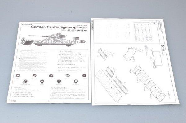 Trumpeter 00368 German Panzerjagerwagen (1:35)
