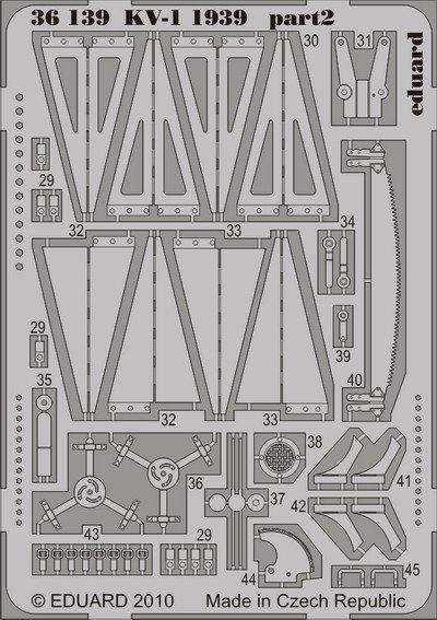 Eduard 36139 KV-1 1939 1/35 Trumpeter