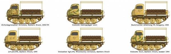 Das Werk DW35026 Raupenschlepper Ost RSO/01 Type 470  1/35