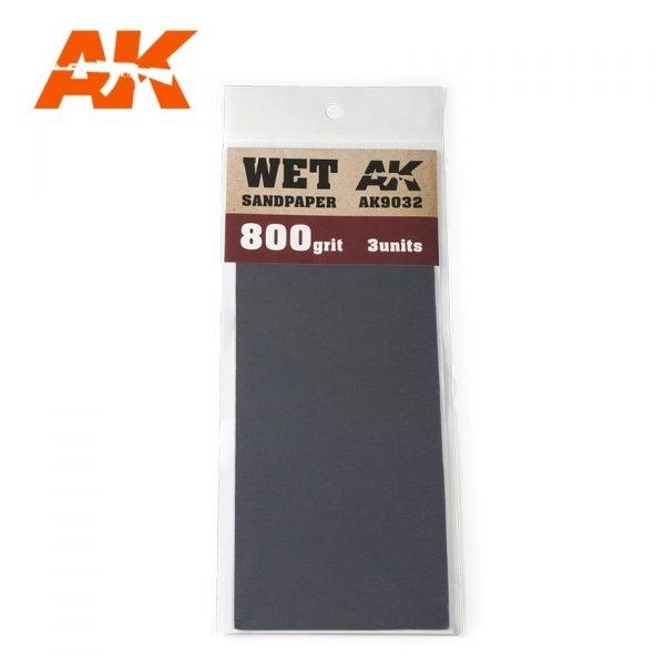AK Interactive AK 9032 WET SANDPAPER 800