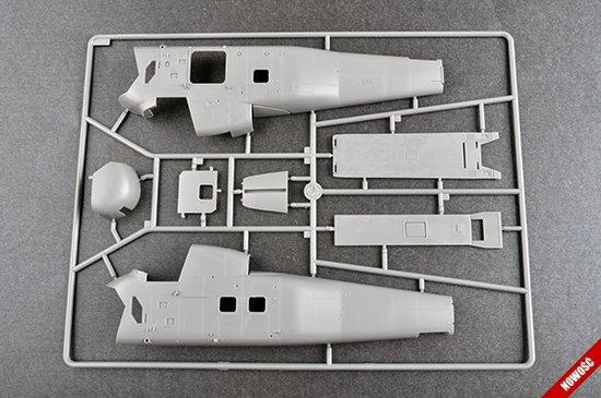 Trumpeter 02886 UH-34D Seahorse 1/48