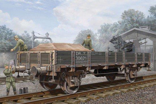 Trumpeter 01518 German Railway Gondola (Lower sides) (1:35)