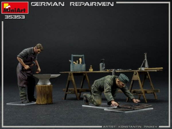 Miniart 35353 GERMAN REPAIRMEN 1/35