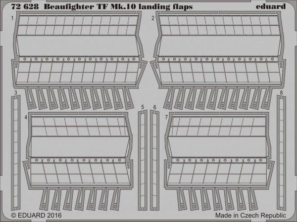 Eduard BIG72116 BEAUFIGHTER TF Mk.10 1/72 AIRFIX