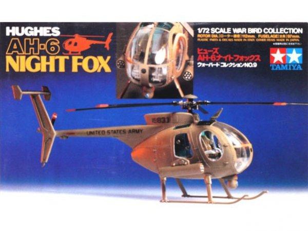 Tamiya 60709 Hughes AH-6 Night Fox (1:72)